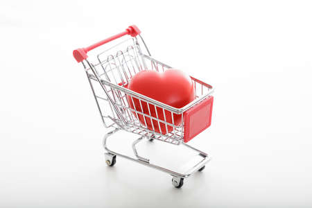 supermarket trolley: metal supermarket trolley