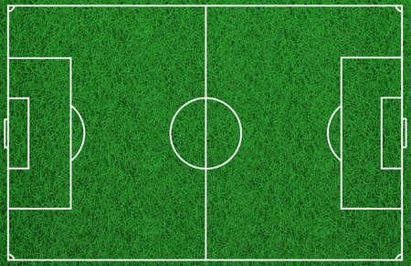 rendering: 3d rendering soccer field