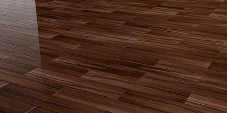 polished: 3d rendering polished wooden floor background