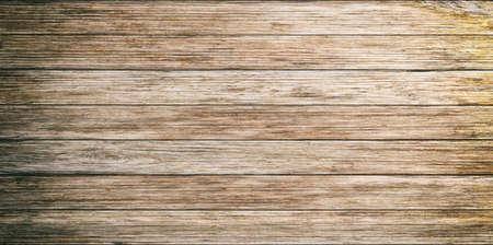 3D-rendering oude houten horizontale planken achtergrond Stockfoto