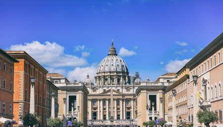 Saint Peters Basilica - Vatican in Rome, Italy
