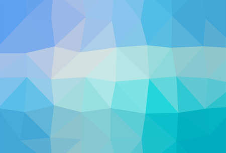 Abstract geometric blue color shades gradient background texture, low poly triangle pattern, computer graphic, Illustration 向量圖像