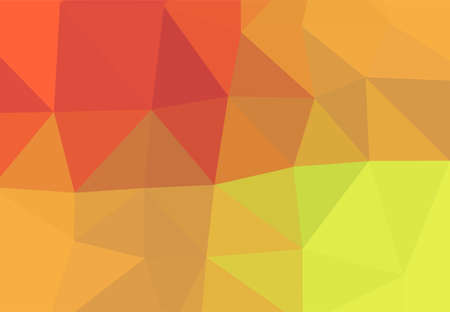 Abstract geometric gradient background texture, colorful shades, low poly triangle pattern, computer graphic, Illustration  イラスト・ベクター素材