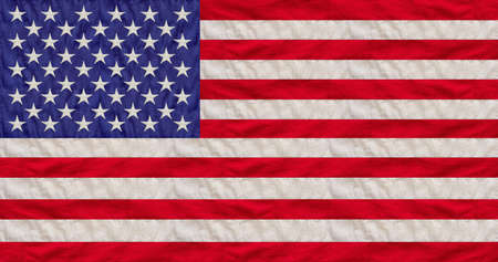 USA national flag background texture, US of America Memorial day and 4th of July, Independence holiday concept.