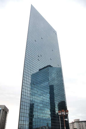 オフィス街、四半期、ビジネス地区、ナポリ、カンパニア州、イタリア