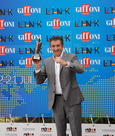 16: Giffoni Valle Piana, Sa, Italy - July 16, 2011 : Ezio Greggio at Giffoni Film Festival 2011 - on July 16, 2011 in Giffoni Valle Piana, Italy Editorial