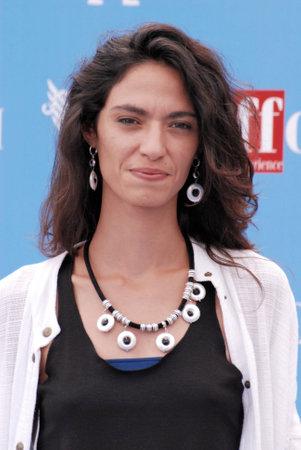 Giffoni Valle Piana, Sa, Italy - July 17, 2016 : Roberta Mattei at Giffoni Film Festival 2016 - on July 17, 2016 in Giffoni Valle Piana, Italy