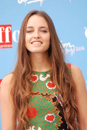 Giffoni Valle Piana, Sa, Italy - July 20, 2016 : Matilde Gioli at Giffoni Film Festival 2016 - on July 20, 2016 in Giffoni Valle Piana, Italy Editorial