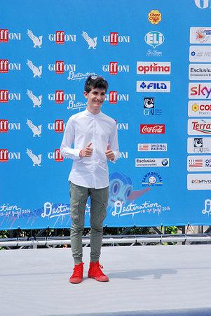 Giffoni Valle Piana, Sa, Italy - July 24, 2016 : Pio Luigi Piscicelli at Giffoni Film Festival 2016 - on July 24, 2016 in Giffoni Valle Piana, Italy