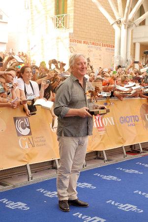 Giffoni Valle Piana, Salerno, Italia - 23 Luglio, 2014 : Alan Rickman al Giffoni Film Festival 2014 - il 23 Luglio, 2014 a Giffoni Valle Piana, Italia Editöryel