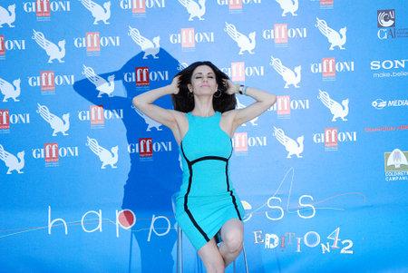 Giffoni Valle Piana, Salerno, Italia - 18 Luglio, 2012 : Rossella Brescia al Giffoni Film Festival 2012 - il 18 Luglio, 2012 a Giffoni Valle Piana, Italia
