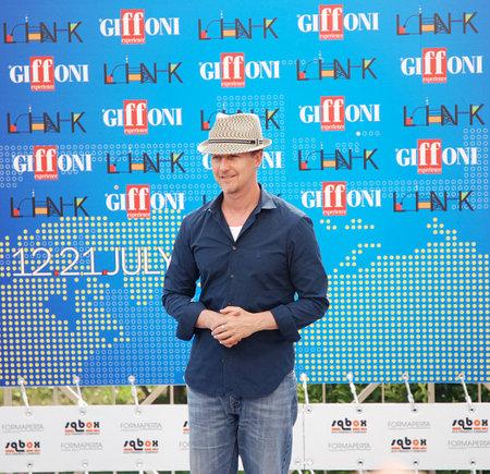 Giffoni Valle Piana, Salerno, Italia - 13 Luglio, 2011 : Edward Norton al Giffoni Film Festival 2011 - il 13 Luglio, 2011 a Giffoni Valle Piana, Italia