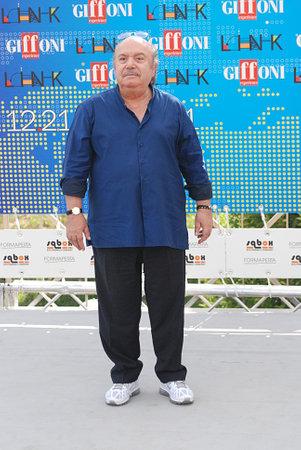 Giffoni Valle Piana, Salerno, Italia - 21 Luglio, 2011 :  Lino Banfi al Giffoni Film Festival 2011 - il 21 Luglio, 2011 a Giffoni Valle Piana, Italia Editorial