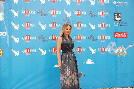 Giffoni Valle Piana, Salerno, Italia - 27 Luglio, 2014 : Ornella Muti al Giffoni Film Festival 2014 - il 27 Luglio, 2014 a Giffoni Valle Piana, Italia Editorial