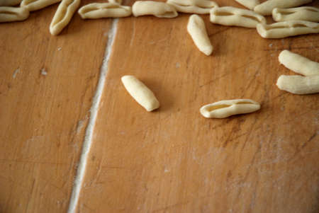 sud: Pasta fatta a mano, in Campania, Sud Italia