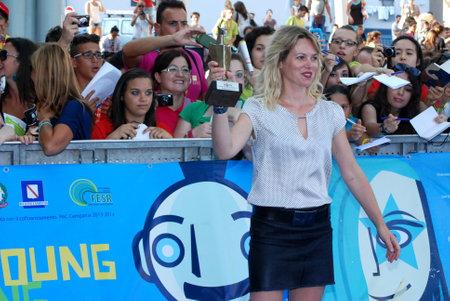 Giffoni Valle Piana, Salerno, Italia - 25 Luglio, 2013 : Barbora Bobulova al Giffoni Film Festival 2013 - il 25 Luglio, 2013 a Giffoni Valle Piana, Italia
