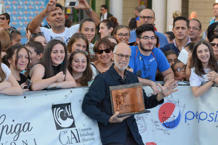 Giffoni Valle Piana, Sa, Italy - July 21, 2017: Gabriele Salvatores at Giffoni Film Festival 2017 - on July 21, 2017 in Giffoni Valle Piana, Italy