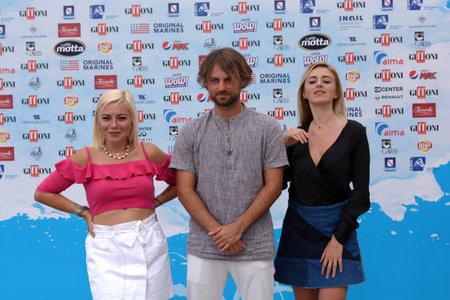 Giffoni Valle Piana, Sa, Italy - July 25, 2018 : Il Pagante at Giffoni Film Festival 2018 - on July 25, 2018 in Giffoni Valle Piana, Italy