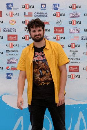 Giffoni Valle Piana, Sa, Italy - July 22, 2018 : Frank Matano at Giffoni Film Festival 2018 - on July 22, 2018 in Giffoni Valle Piana, Italy