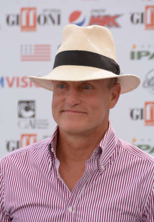 Giffoni Valle Piana, Sa, Italy - July 20, 2019 : Woody Harrelson at Giffoni Film Festival 2019 - on July 20, 2019 in Giffoni Valle Piana, Italy.