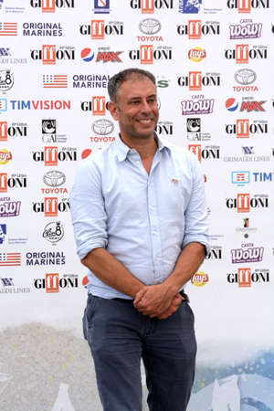 Giffoni Valle Piana, Sa, Italy - July 22, 2019 : Ivan Cotroneo at Giffoni Film Festival 2019 - on July 22, 2019 in Giffoni Valle Piana, Italy. Editorial