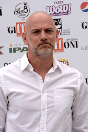 Giffoni Valle Piana, Sa, Italy - July 27, 2019 : Filippo Nigro at Giffoni Film Festival 2019 - on July 27, 2019 in Giffoni Valle Piana, Italy.