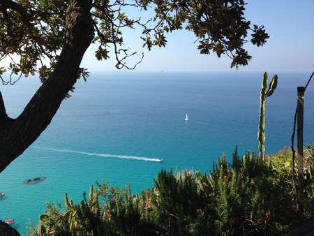 Mediterranean Sea Italy Calabria Capo Vaticano Tropea