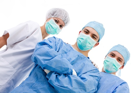 medical team after the surgery Stock Photo - 9524724