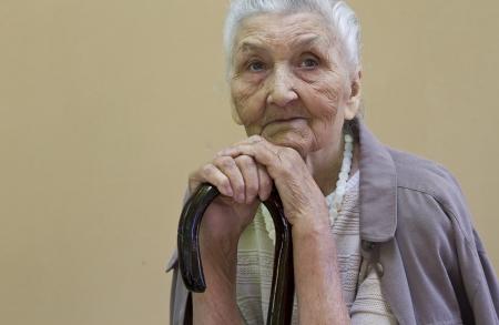 widow: sad old lady