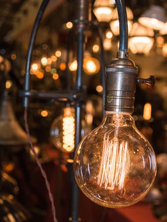 artificial: vintage electric carbon light