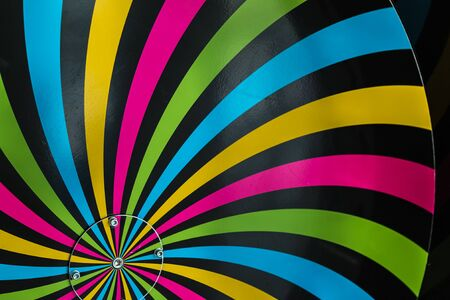 Classical Hypnosis Rotating Spiral, Colorful Cycling Vortex Illusion