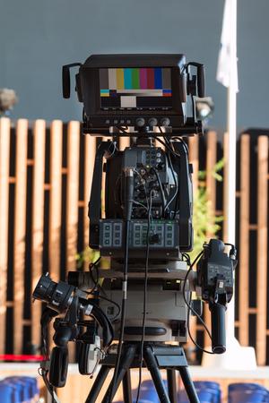 Professional Digital Video Camera for Tv News Broadcasting