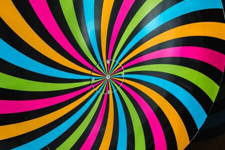 hypnotism: Classical Hypnosis Rotating Spiral, Colorful Cycling Vortex Illusion