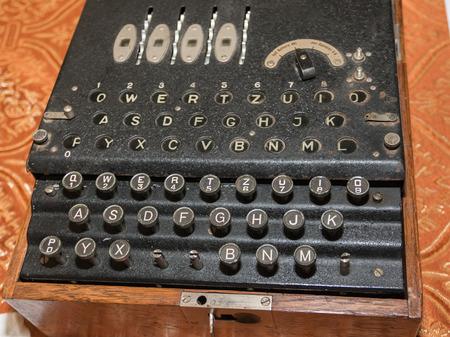 scrambler: The Enigma Cipher Coding Machine from World War II