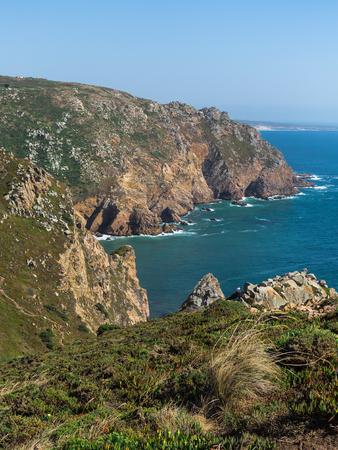 Costa de Cabo da Roca, el punto occidental de Europa, Portugal