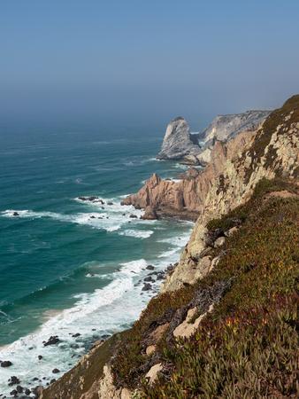 Cabo da Roca Coastline, the Western Point of Europe, Portugal