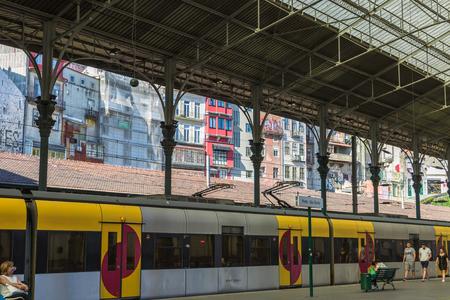 Railway Train Station Sao Bento, Porto, Portugal