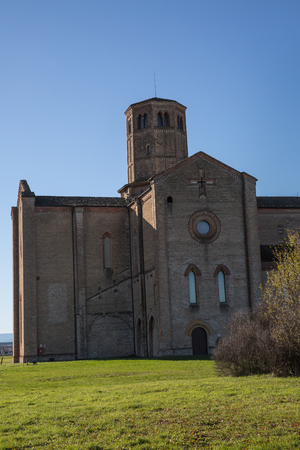 Carthusian Monastery located in the outskirts of Parma in Italy: Abbey of Valserena.