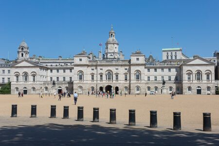 Horse Guards, an historic Building in the City of Westminster, London.
