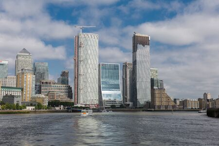 The Newfoundland Quay, a Residential Skyscraper at the Isle of Dogs, London.