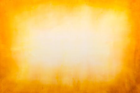Paint on Canvas: Abstract Art in Yellow Hues - Background.