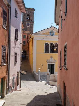 Nativity of the Virgin Mary Church in Castelpoggio, Carrara - Italy.