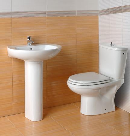 toilet, wash basin photo