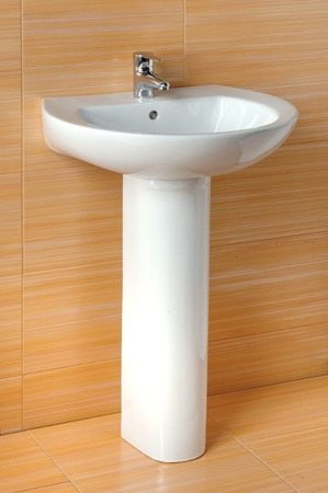 sink hole: wash basin Stock Photo