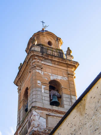 wind vane: particular the bell tower of the church of St. Augustine
