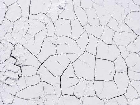 White marble powder background crossed by cracks Archivio Fotografico