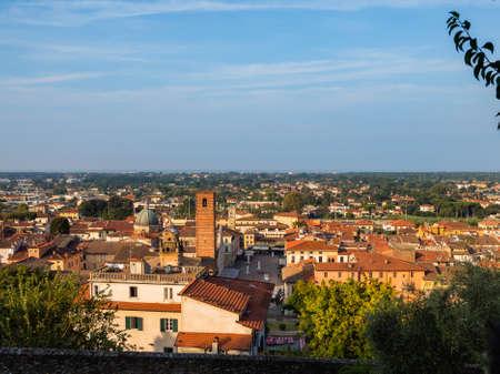 Pietrasanta a typical medieval town of Tuscany Archivio Fotografico - 131781642