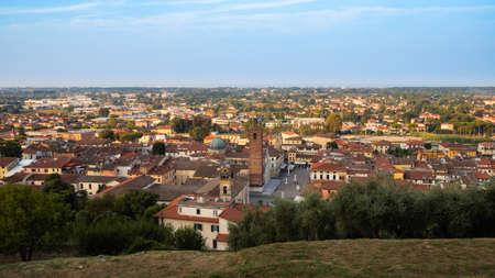 Pietrasanta a typical medieval town of Tuscany Archivio Fotografico - 131781998