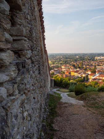 Pietrasanta a typical medieval town of Tuscany - Rocca di Sala Archivio Fotografico