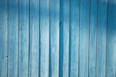 fence coated with a thin layer of blue